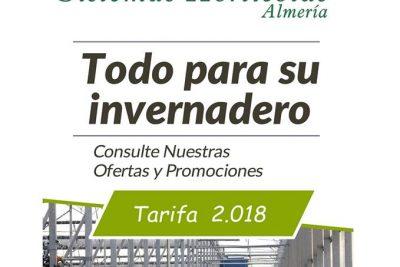 Importamos el catálogo completo de Sistemas Hortícolas Almería.